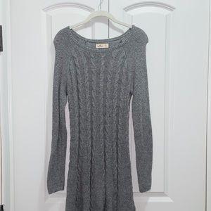Hollister Gray Sweater Dress